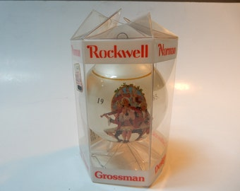 Norman Rockwell Boxed 1985 Dave Grossman, Limited Edition Ornament