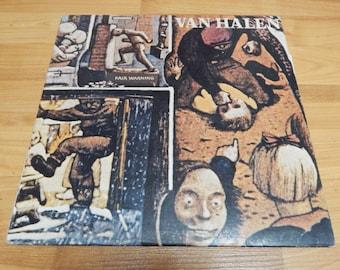 Van Halen Fair Warning Vinyl Record LP Album rock