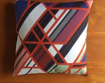 """Maharam """"A Band Apart"""" accent pillow 17"""" x 17"""" feather/down insert included"""
