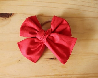 Big Big Cherry Red (headband or clip)