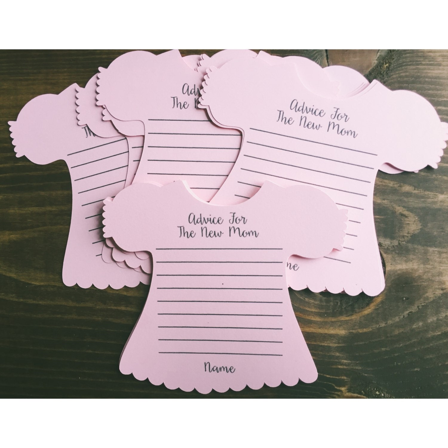 Baby Shower Gifts For Mommy To Be ~ New mom advice card for the cards