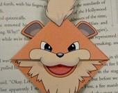 Growlithe Bookmark