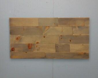 Rustic Wood Headboard / Queen Size Head Board /