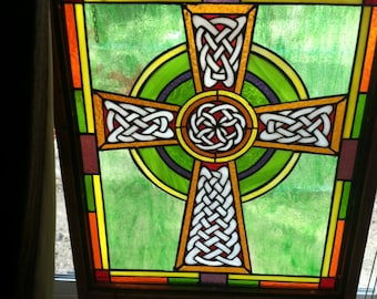 Gaelic Cross and detail