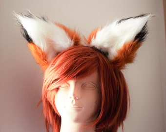 Cosplay Ears - Fox, Wolf, Cat - Made To Order