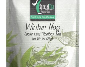 1 oz. Winter Nog Rooibos Tea