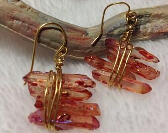 The Fire Queen Earrings