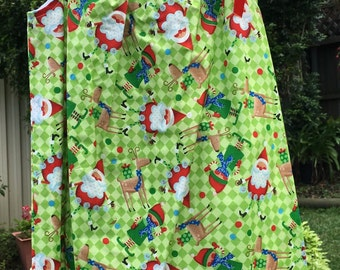Girl's Christmas Handmade Dress sizes 4 and 6 only