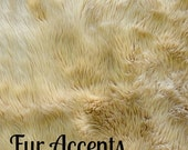 Shaggy Shag Faux Fur Fabric Yardage Remnant Piece /  Sheepskin / Throw Blankets/ Rugs Choose size and color