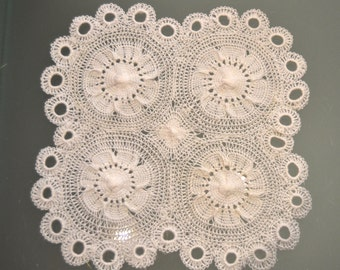 Tenerife lace doily.