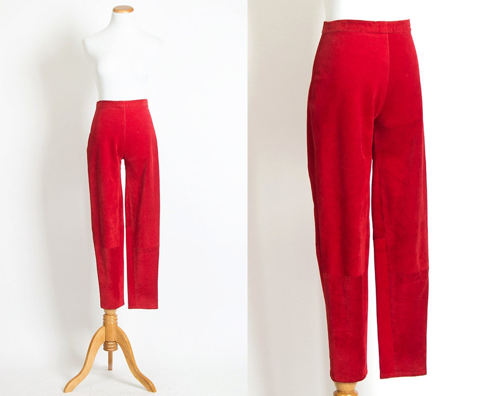 You searched for: red cigarette pants! Etsy is the home to thousands of handmade, vintage, and one-of-a-kind products and gifts related to your search. No matter what you're looking for or where you are in the world, our global marketplace of sellers can help you find unique and affordable options. Let's get started!