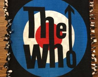 The Who Fleece Tie Blanket