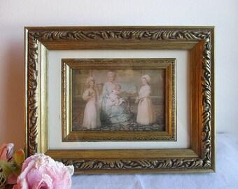 Vintage Gold Carved Picture Frame,Gold Frame,Vintage Picture Frame,Vintage Gold Picture Frame,Shabby Picture Frame,Gold Wood Picture Frame
