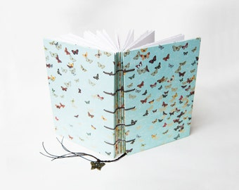 Elegance Butterfly Coptic Journal, Notebook, Sketchbook