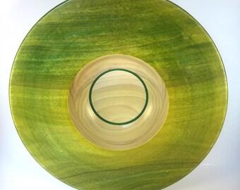 Handmade Poplar Bowl