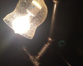 Iron Pipe Desk Lamp