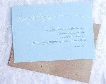 Wedding/Party Invitation - Sara