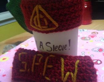 Harry Potter SPEW Coffee Sleeve