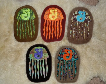 Assorted String Cheese Jellyfish patches