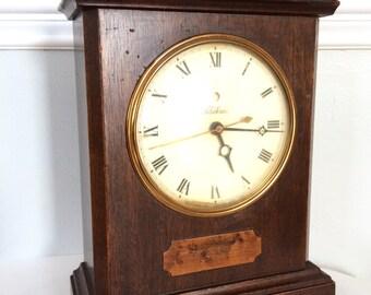 Vintage Clock, Telechron 4H99 Mantle Clock, 'Knickerbocker' Shelf Clock, Electric Shelf Clock
