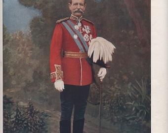 Military Uniforms, Sir Charles Warren , G.C.M.G., K.C.B., R.E.  South Africa  Boers War