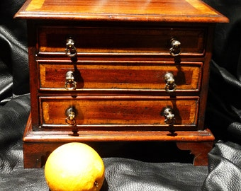 Miniature Chest of Drawers Georgian Style