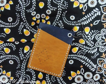Hand Stitched Leather Card Holder-Leather Card Holder-Business Card Holder -Credit Card Holder, Visa/Mastercard Holder -Hand Stitched
