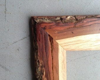 8x10 Pecan Bark Picture Frames