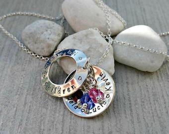 Sterling silver hidden message locket style necklace (medium size)