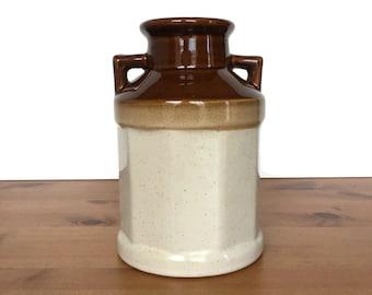 Stoneware Milk Jar Etsy