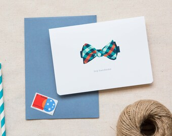 Love / Friendship Card  |  Bow Tie