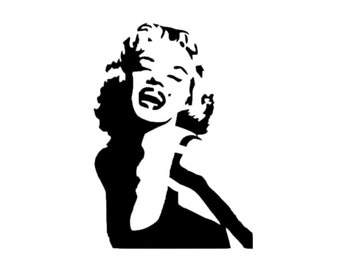 Marilyn Monroe Decal | Decal | Marilyn Monroe Sticker | Marilyn Monroe Vinyl Decal | Marilyn Monroe Decal | Marilyn Monroe Sticker