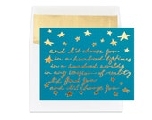 Gold Foil | Love, Anniversary Card | I'd Choose You