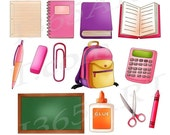 50% OFF SALE School Clipa...