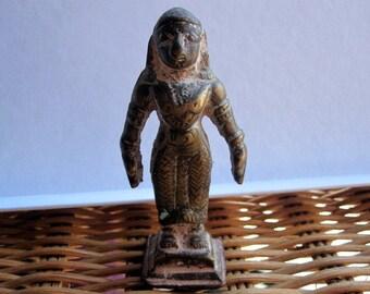 Hindu female Deity.Apsara celestial dancer.