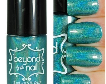 Beyond the Teal - Holographic Jelly Nail Polish