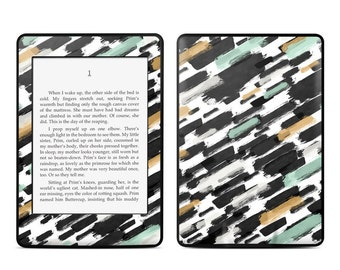 Amazon Kindle Skin - Brushin Up by Brooke Boothe - Sticker Decal - Fits Paperwhite, Fire, Voyage, Touch, Oasis