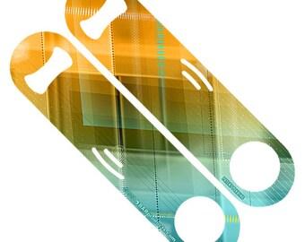 Techno Plaid Pattern StrainBlade® Openers - CUSTOMIZABLE
