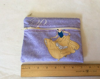 """Snow White  wet/dry  bag or cosmetic 5"""" x 71/2"""""""