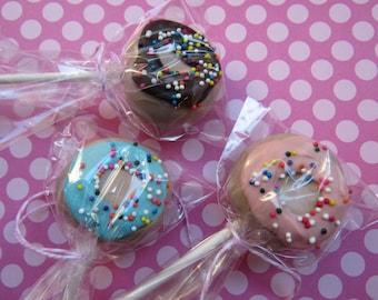 Donut Cake Pops (1 dozen)