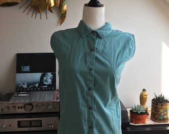 Vintage Woolrich sleevless blouse