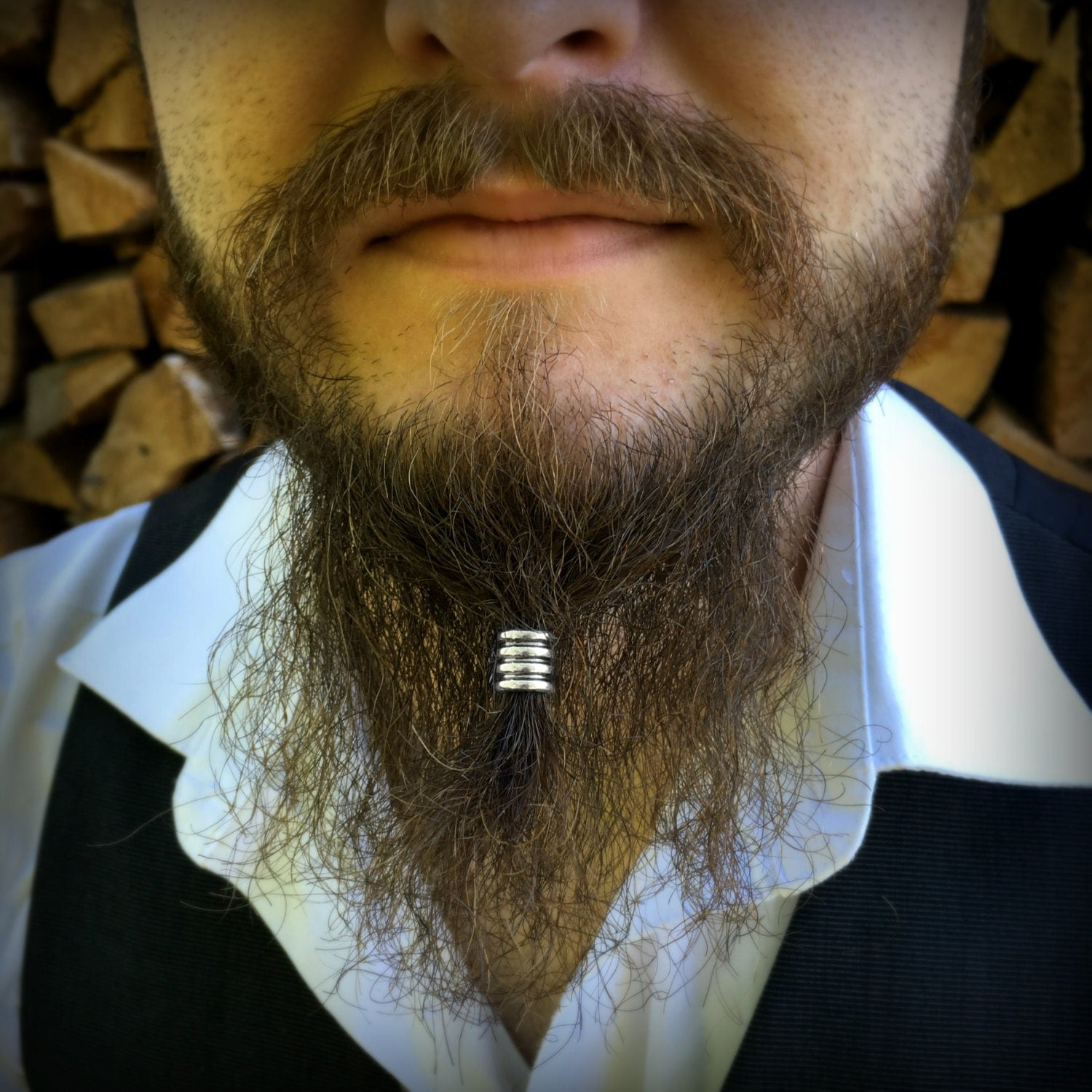 Beard Beading KIT 'Hale' TIBETAN ALLOY beard rings viking ...