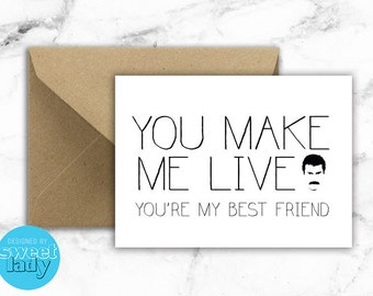 Lyrical Card : QUEEN You Make Me Live You're My Best Friend