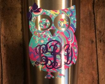 Owl Car Decal Etsy - Owl custom vinyl decals for car