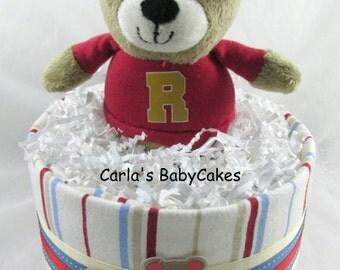 Boy diaper cake | MIni diaper cake | Baby shower gift | Unique baby gift | New mom gift | Baby shower decoration | Baby sprinkle gift