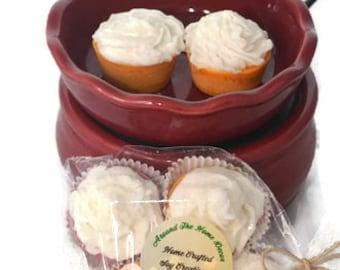 Mini Cupcake Soy Wax Melts. 90+ Fragrances. 4 Pack.