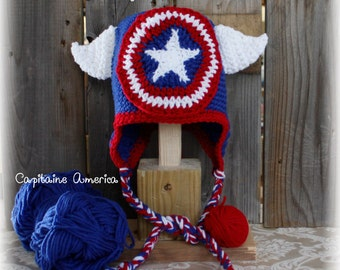 Cap Captain America (on order)