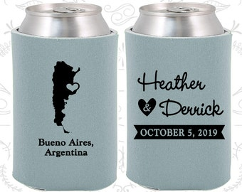 Frost Blue Wedding, Can Coolers, Frost Blue Wedding Favors, Frost Blue Wedding Gift, Frost Blue Wedding Decorations (152)