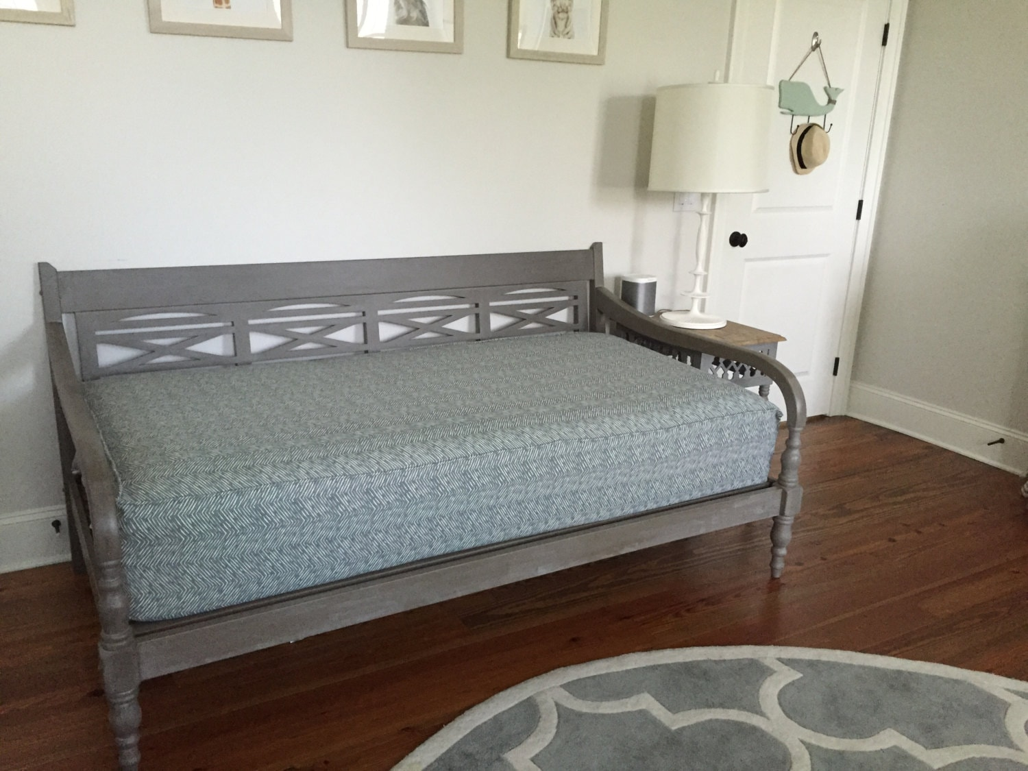 Fitted Daybed Cover With Cording Piping In Twin Twin Xl