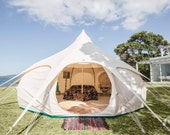 Lotus Belle 16ft Outback tent, beautiful handmade glamping tents, yurt, tipi, teepee, burning man